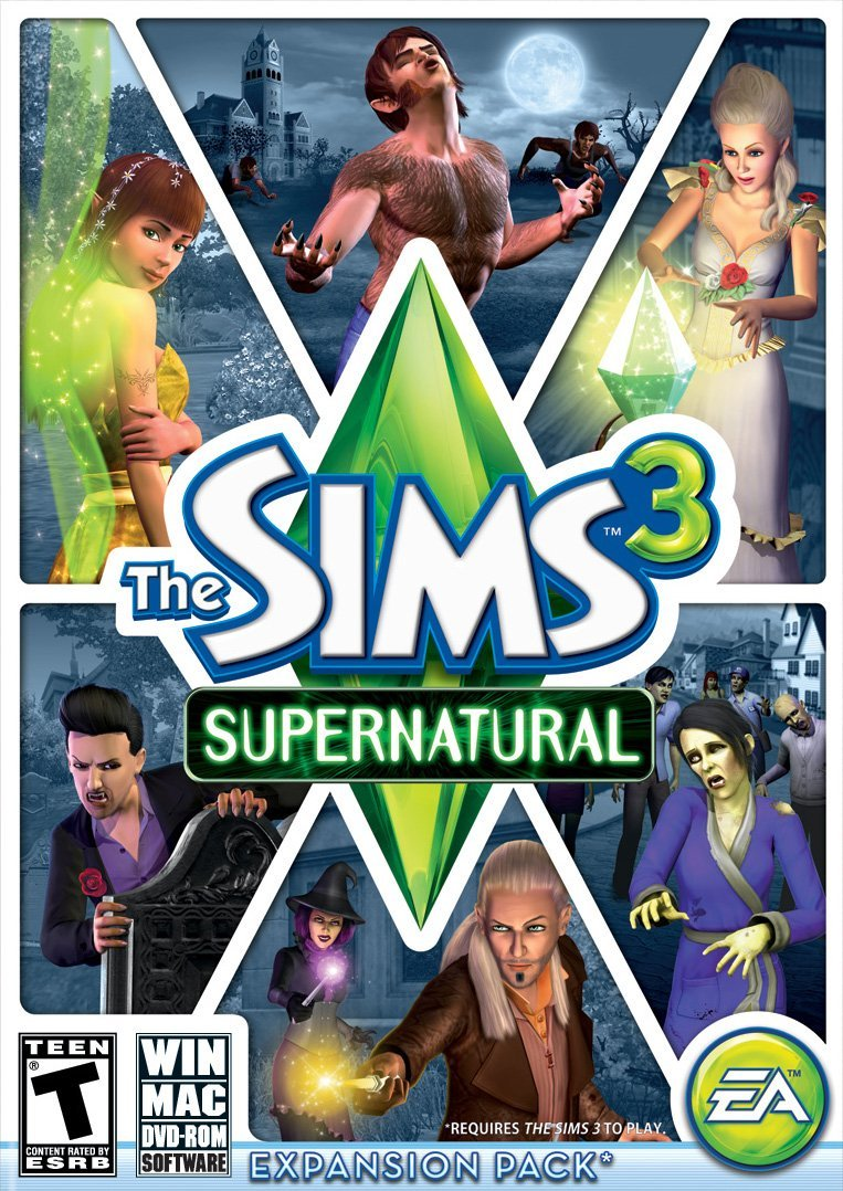 The Sims 3 - Supernatural (Add-On) (PC/Mac)