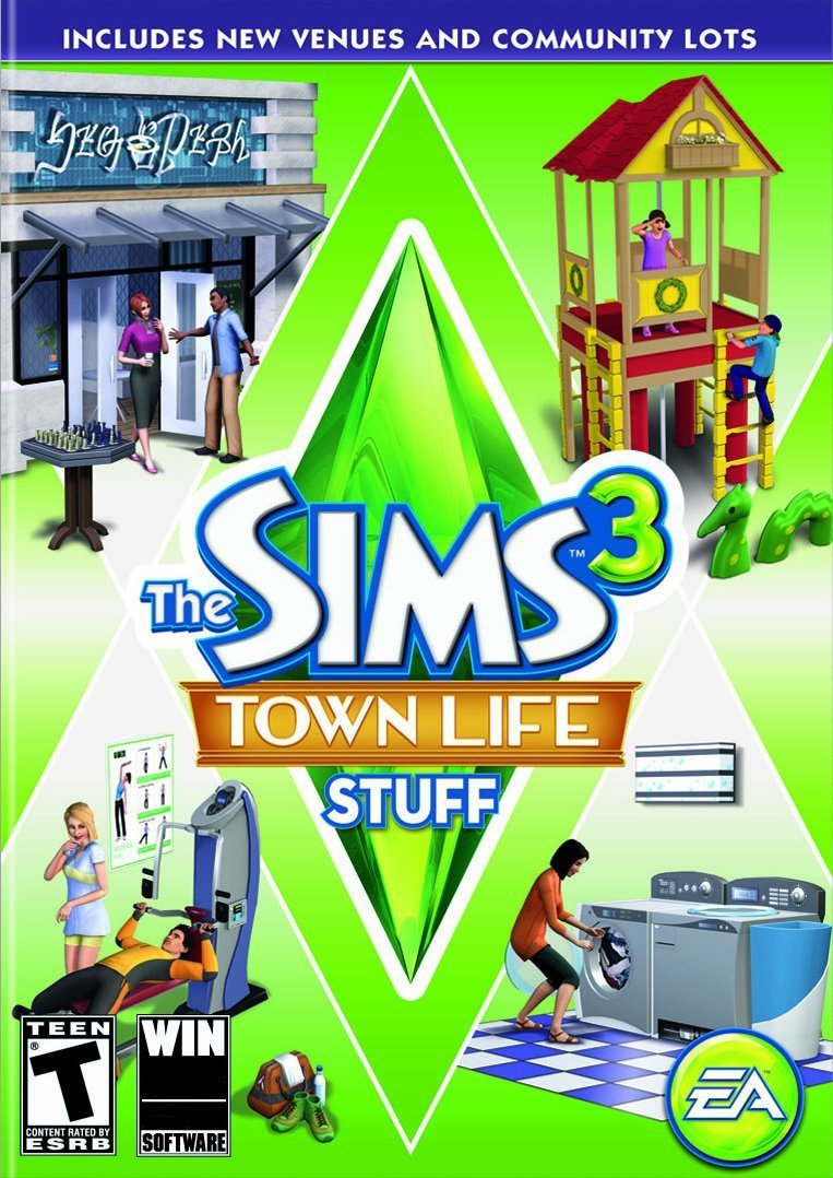 The Sims 3 - Town Life Stuff (Add-on) (PC/Mac)