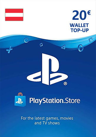 Official PSN 20 EUR (AT) - PlayStation Network Gift Card