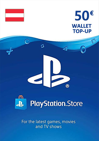PSN 50 EUR (AT) - PlayStation Network Gift Card
