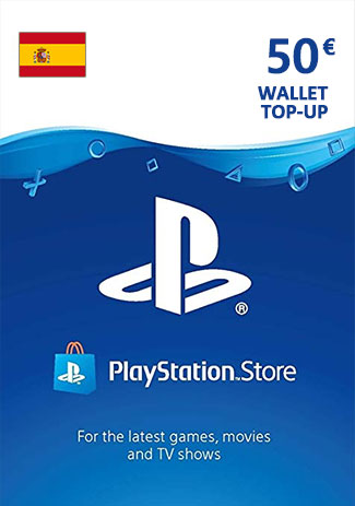 PSN 50 EUR (ES) - PlayStation Network Gift Card
