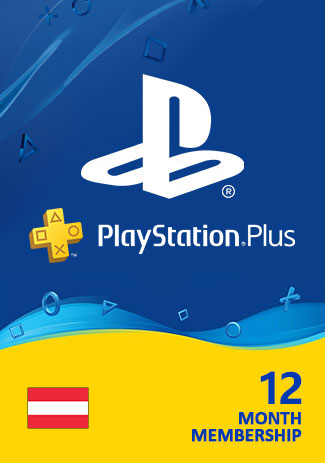 PSN Plus 365 Days (AT) - PlayStation Plus 12 Month