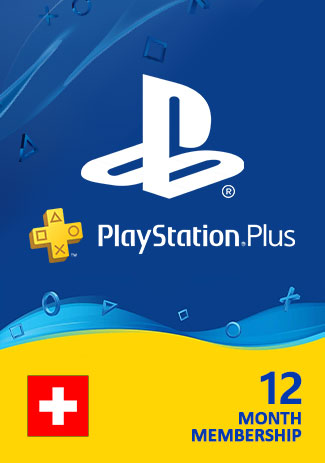 PSN Plus 365 Days (CH) - PlayStation Plus 12 Month