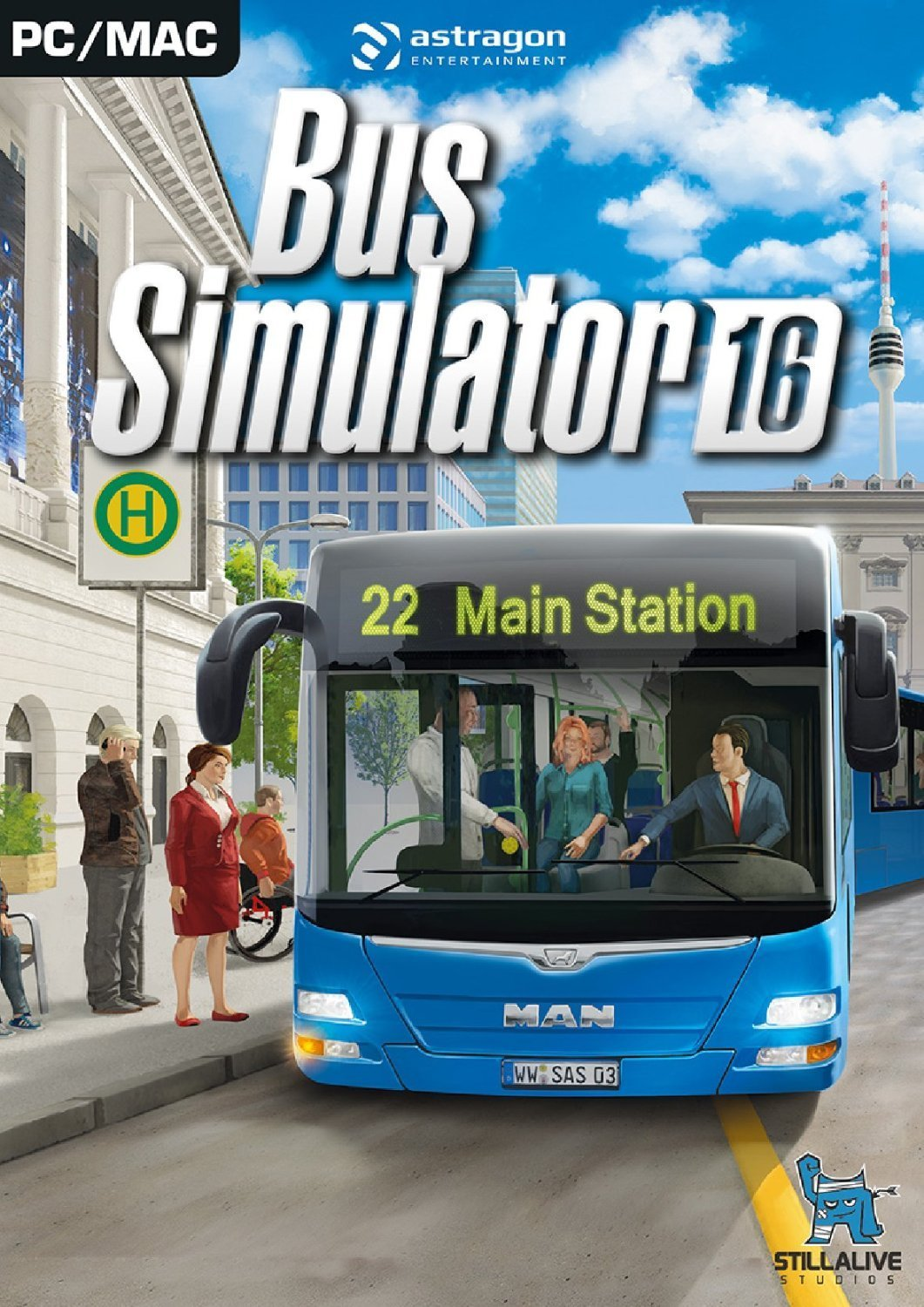 Official Bus Simulator 16 (PC)
