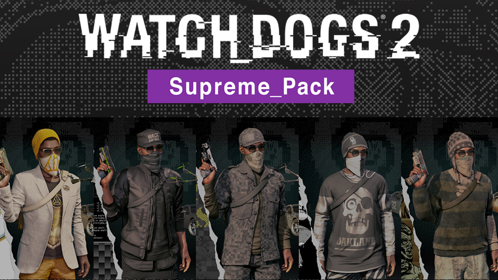 Official Watch Dogs 2 - Supreme Pack