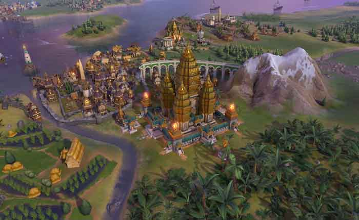 Official Civilization VI - Khmer and Indonesia Civilization & Scenario Pack (PC) EU Version