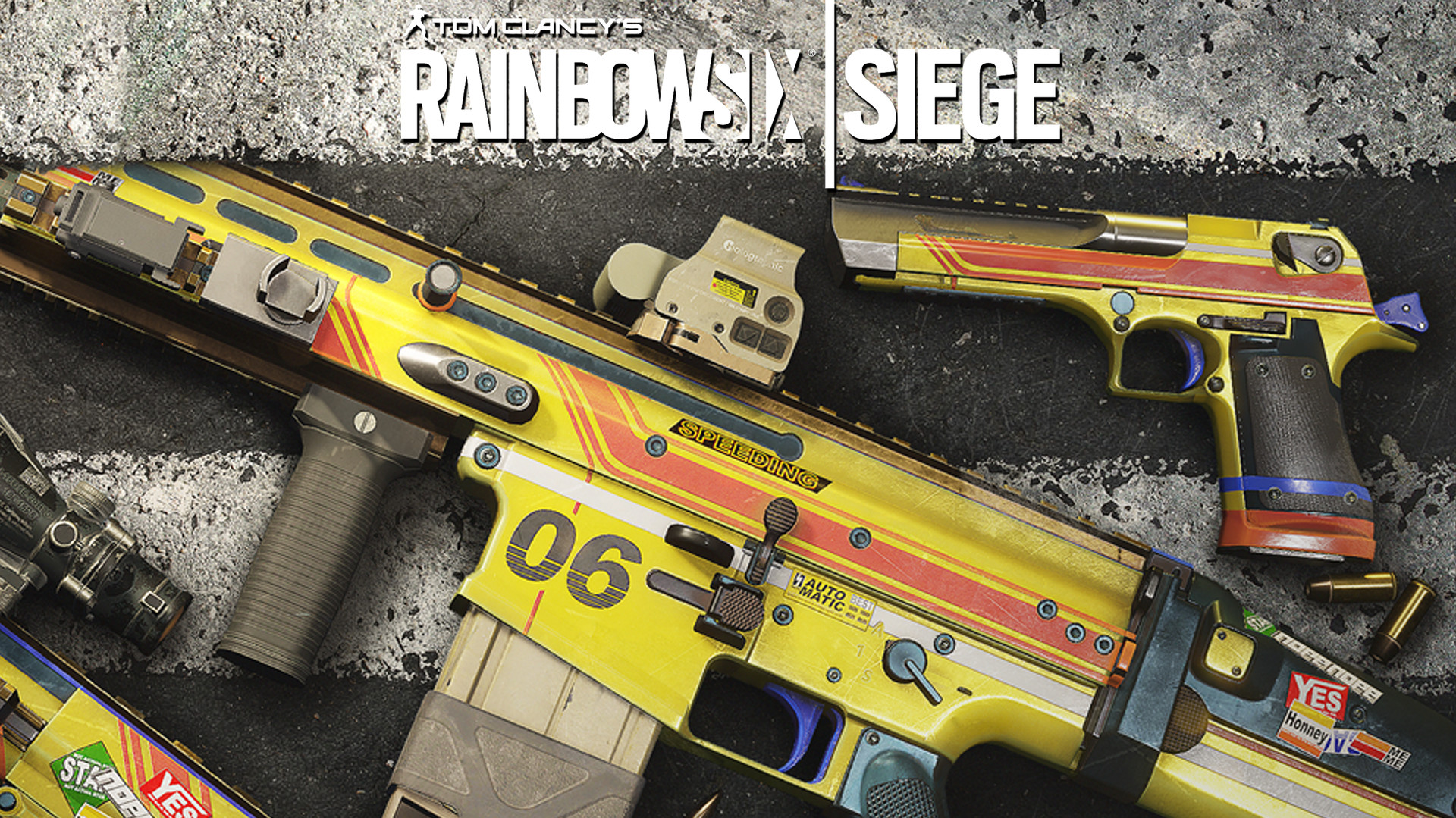 Official Tom Clancy's Rainbow Six Siege Racer Navy Seals Pack DLC
