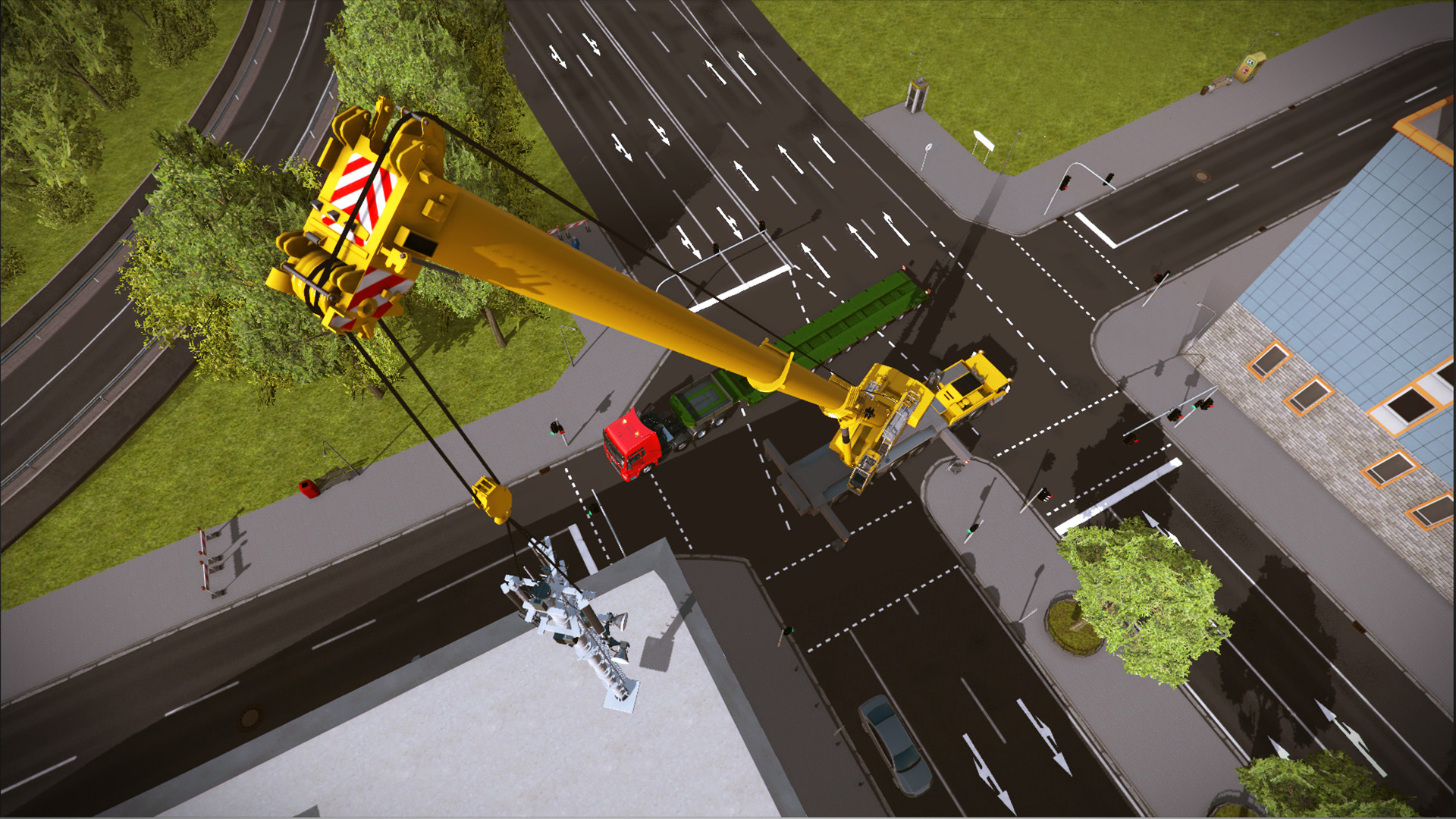 Official Construction Simulator 2015: Liebherr LTM 1300 6.2