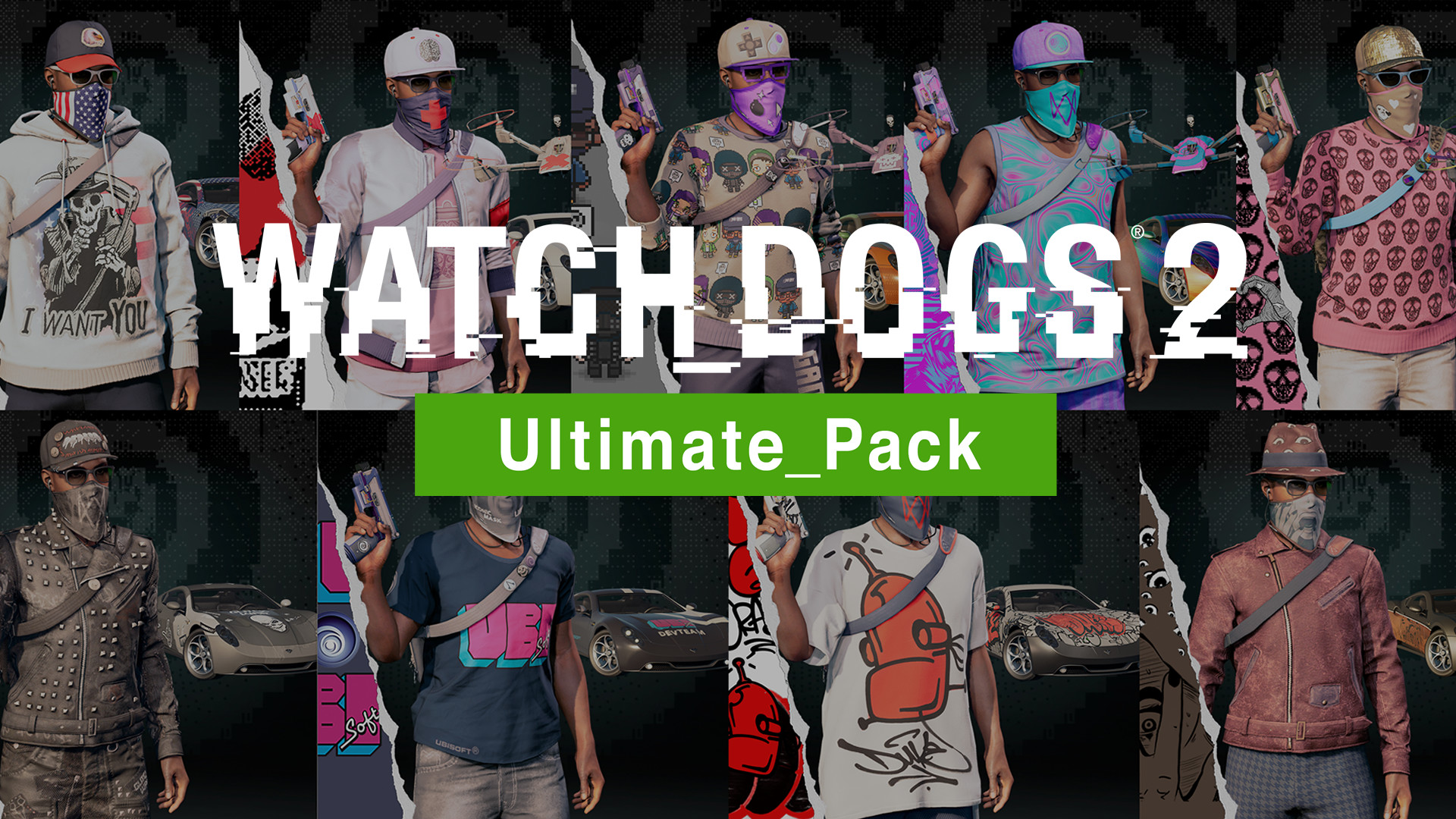 Official Watch Dogs 2 - Ultimate Pack (DLC)