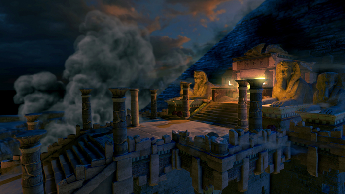 Official Lara Croft and The Temple of Osiris