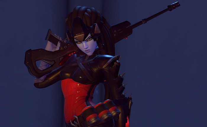 Overwatch Noire Widowmaker Skin