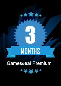 Official GamesDeal Premium Membership 3 Months