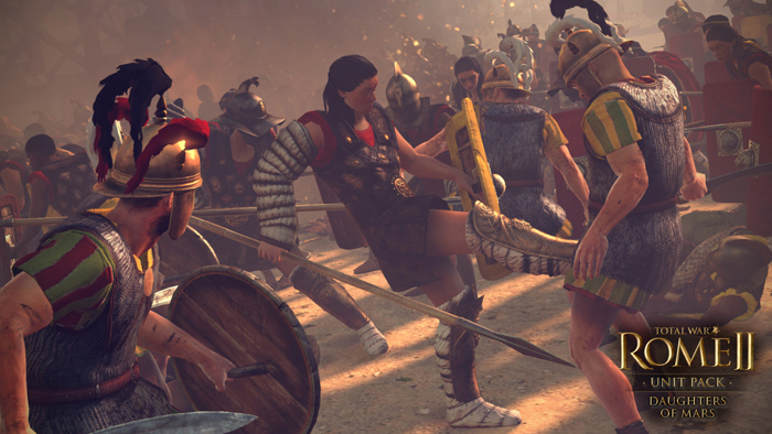 Official Total War: ROME II - Daughters of Mars