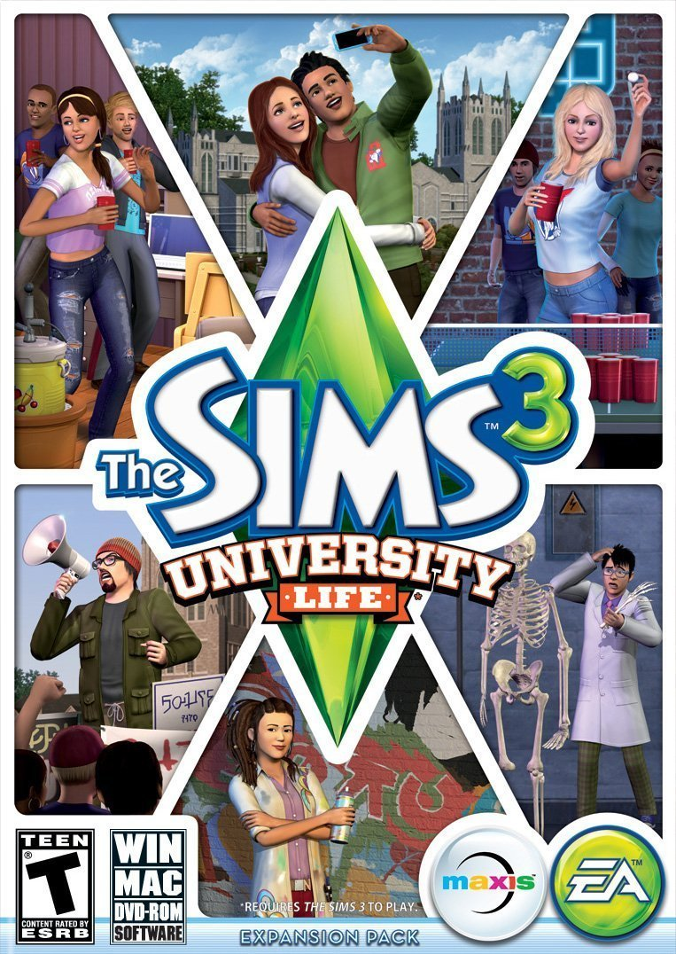 The Sims 3 - University Life (Add-on) (PC/Mac)