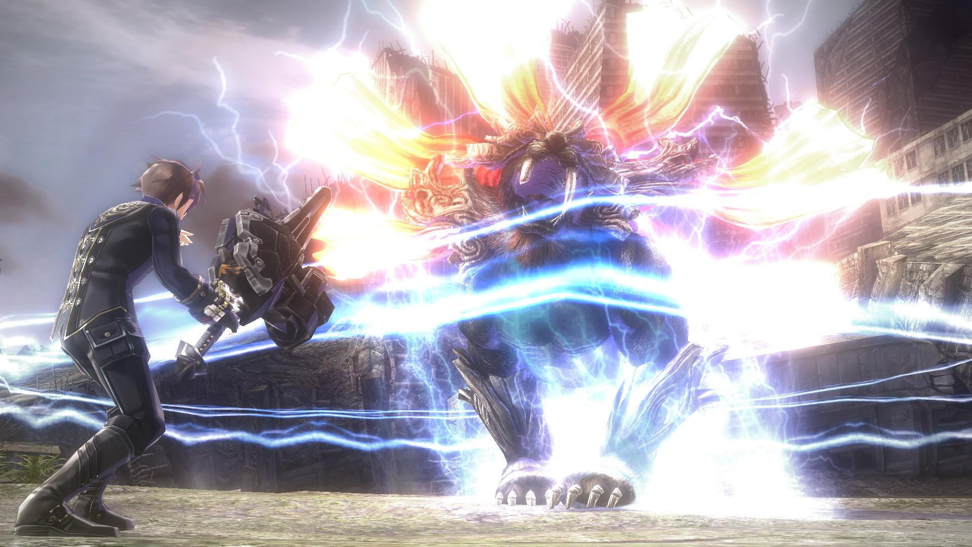 Official GOD EATER 2 Rage Burst (PC)