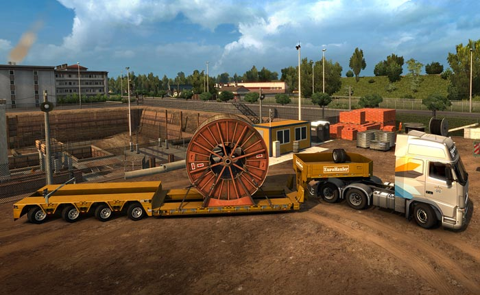 Official Euro Truck Simulator 2 Heavy Cargo Pack (PC)