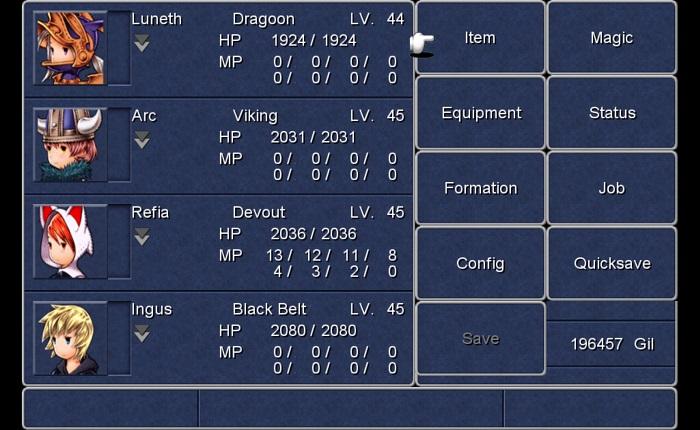 Official Final Fantasy III / Final Fantasy IV Double Pack EU