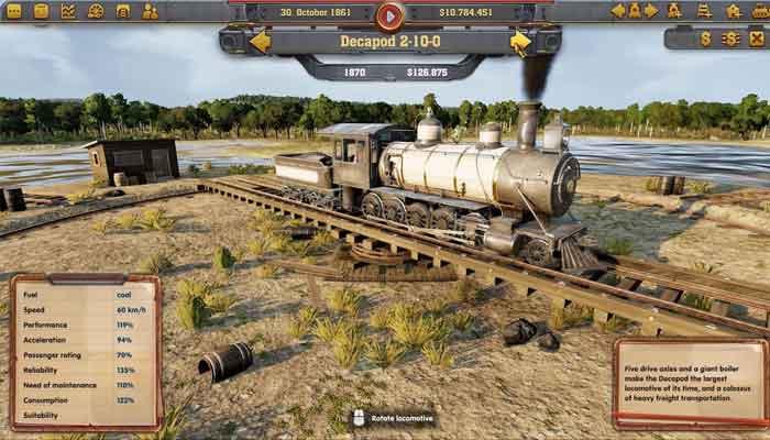 Railway Empire (Steam Cloud Activation)