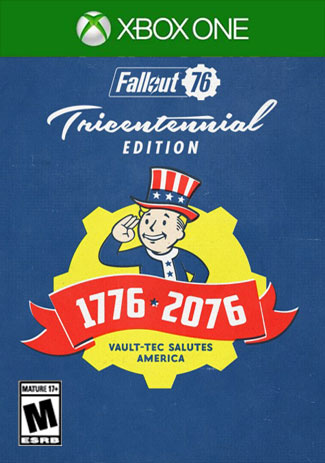 Fallout 76 Tricentennial Edition (Xbox One Download Code)