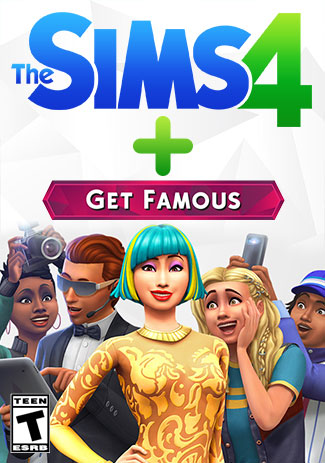 The Sims 4 Plus Get Famous (PC/Mac)