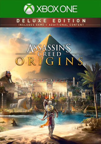 Assassin's Creed Origins Deluxe Edition (Xbox One Download Code)