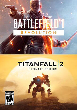 Official Battlefield 1 Revolution and Titanfall 2 Ultimate Edition Bundle (PC)