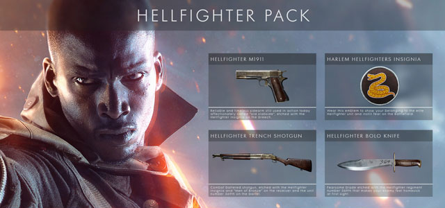 Official Battlefield 1 Hellfighter Pack DLC