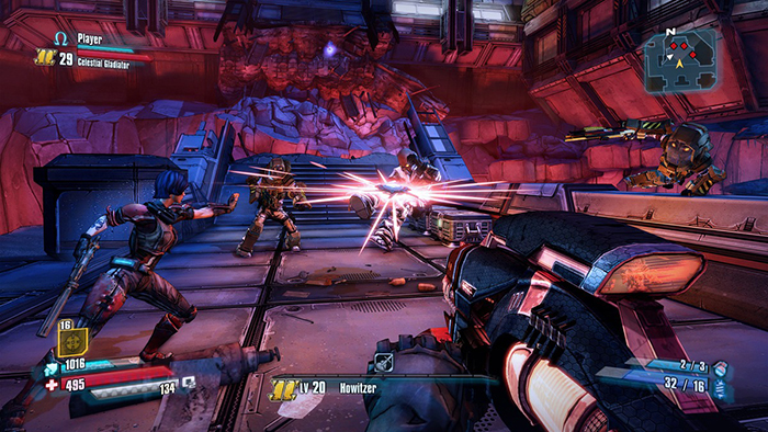 Official Borderlands: The Pre-Sequel Shock Drop Slaughter Pit Bonus