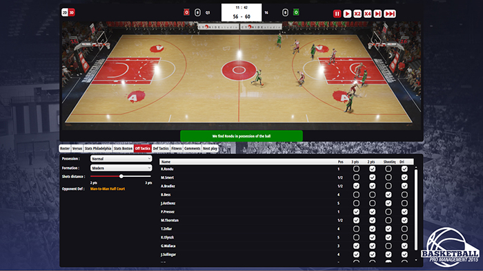 Official Basketball Pro Management 2015 (PC)