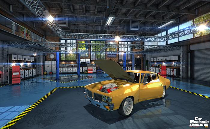 Official Car Mechanic Simulator 2015 Mercedes-Benz