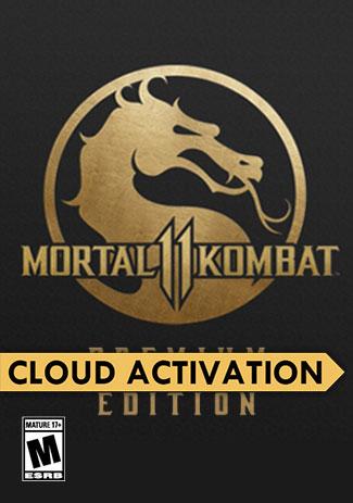 Official Mortal Kombat 11 Premium Edition (PC/Cloud Activation)