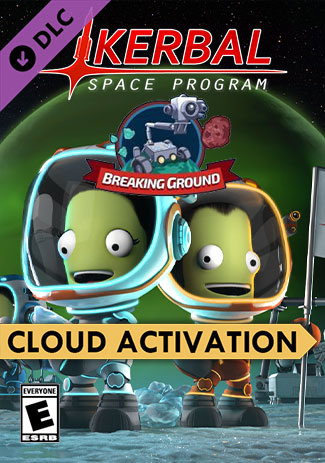 Official Kerbal Space Program: Breaking Ground Expansion (PC/Cloud Activation)