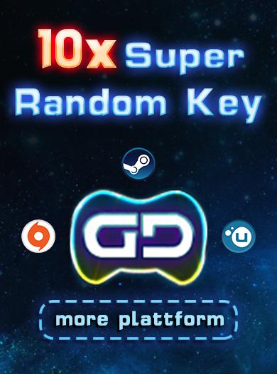 Official 10 Super Random Key