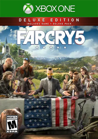 Far Cry 5 Deluxe Edition (Xbox One Download Code)