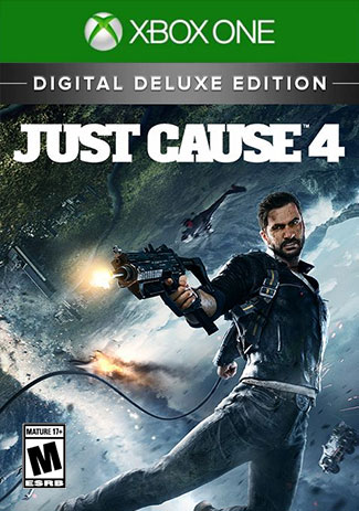 Official Just Cause 4 - Digital Deluxe Edition (Xbox One Download Code)