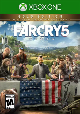 Official Far Cry 5 Gold Edition(Xbox One Download Code)