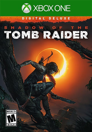 Official Shadow of the Tomb Raider - Digital Deluxe Edition (Xbox One Download Code)