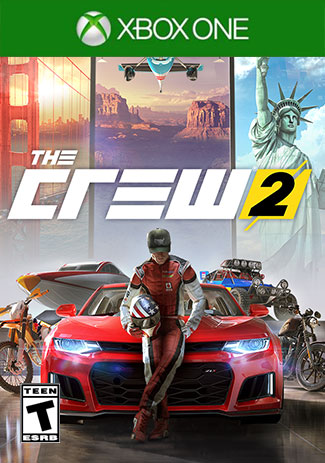 Official The Crew 2 Standard Edition (Xbox One Download Code)