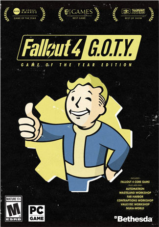 Official Fallout 4: Game of the Year Edition (PC)