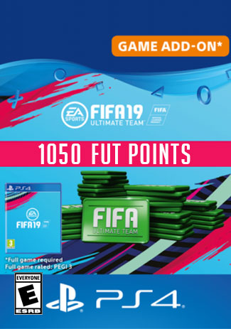 Official FIFA 19 Ultimate Team - 1050 Points (PS4 Code/DE)