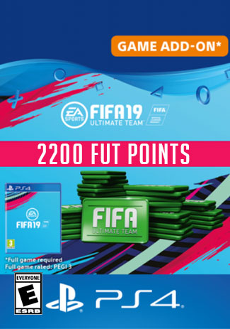 Official FIFA 19 Ultimate Team - 2200 Points (PS4 Code/DE)
