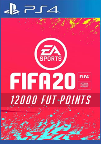 FIFA 20 Ultimate Team - 12000 Points (PS4 Code/DE)