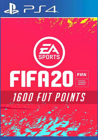 Official FIFA 20 Ultimate Team - 1600 Points (PS4 Code/DE)