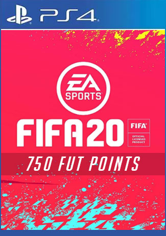 FIFA 20 Ultimate Team - 750 Points (PS4 Code/DE)
