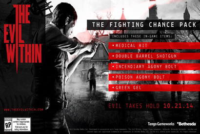 Official The Evil Within - The Fighting Chance Pack DLC