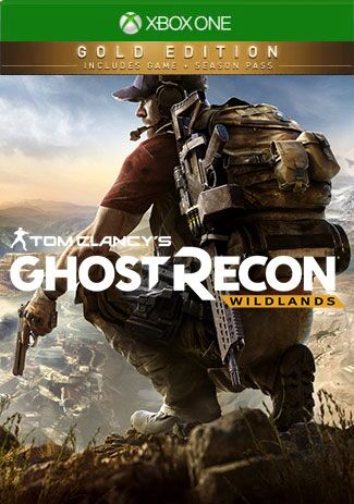 Official Xbox One Tom Clancy's Ghost Recon Wildlands Gold Edition (Xbox One Download Code)