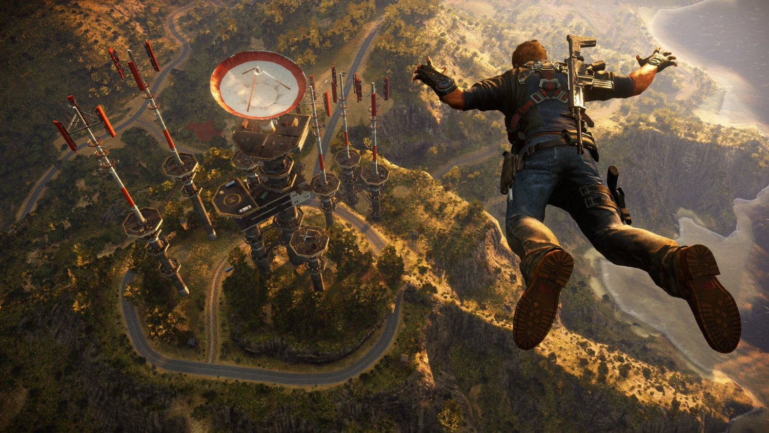 Official Just Cause 3 D1 Edition + Map of Medici (PC)