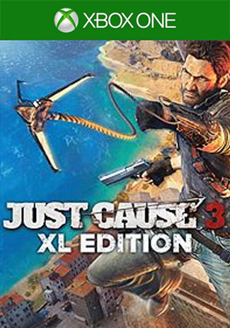 Official XBOX EU Just Cause 3 XL Edition(Xbox One Download Code/EU)