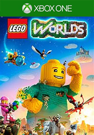 Official Xbox One LEGO Worlds (Xbox One Download Code/US)