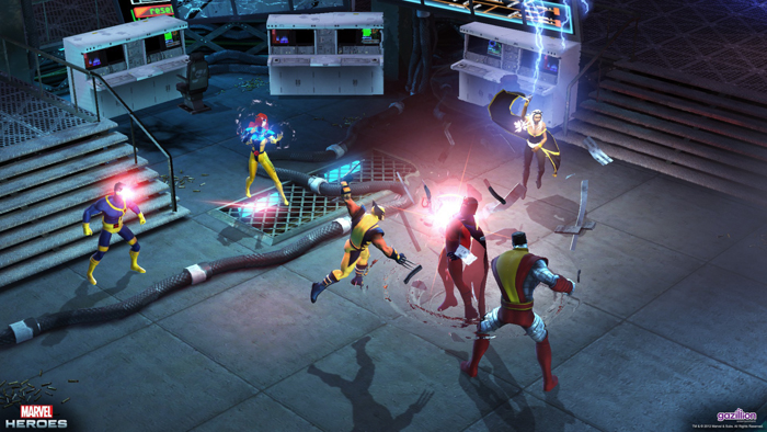 Official Marvel Heroes - Avengers Assemble Team Pack